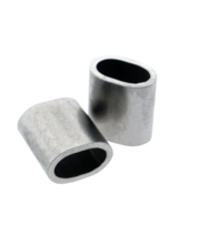 Roestvrijstalen klembus 1 mm