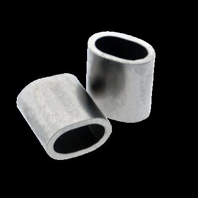 Edelstahl Drahtseilpressklemmen 2,5mm
