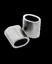 Roestvrijstalen klembus 4mm