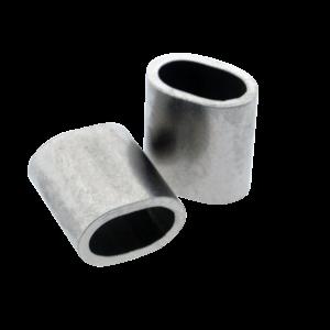 Edelstahl Drahtseilpressklemmen 4mm