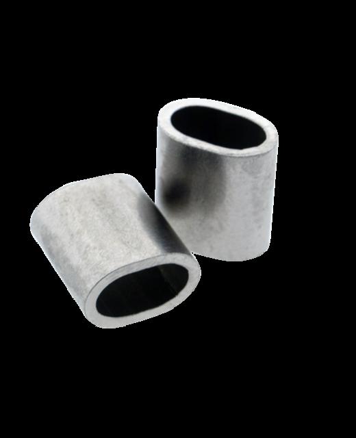 Roestvrijstalen klembus 3mm