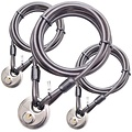 Wire Rope with Disclock 5 meter 3pieces ActionPackage