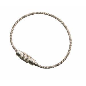 RVS Staaldraad 125 mm 'armband'