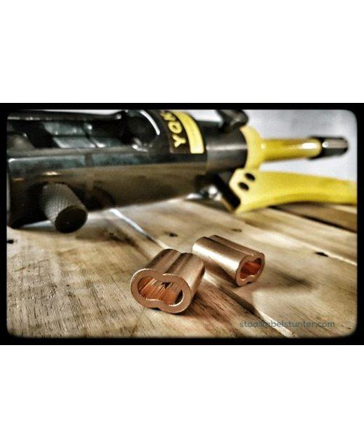Koperen Draadklemmen 8mm