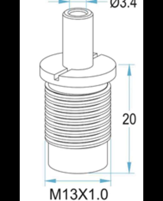 Ophangsysteem voor planken 3 -2,5mm