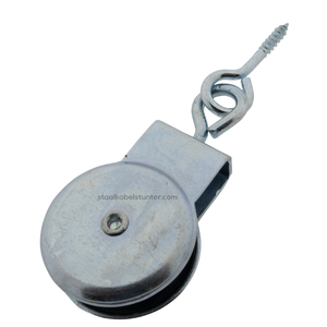 Markisenhangrolle 32mm schraubauge