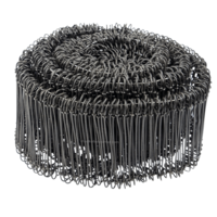 Technx Zakkensluiters zwart 12cm
