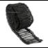 Technx Drahtsackverschluss 1000 Stück 1,4 x 140mm Schwarz ummantelt Rödeldraht Verschlussdraht Bindedraht Sackverschlüsse