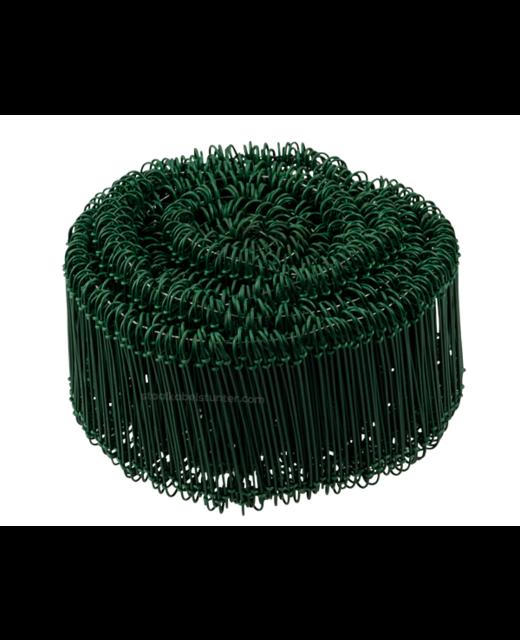 Tie-wire - Zakkensluiters Groen Geplastificeerd 1,4x100mm