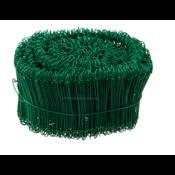Technx Drahtverschluss grün Verschlussdraht Drillbinder Beutelverschluss Draht1,4x120mm