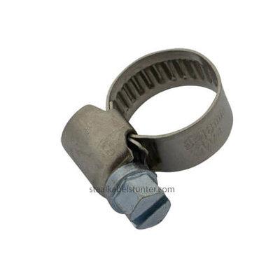 Schlauchschellen Edelstahl 8-16 mm mit Schneckengewinde DIN 3017