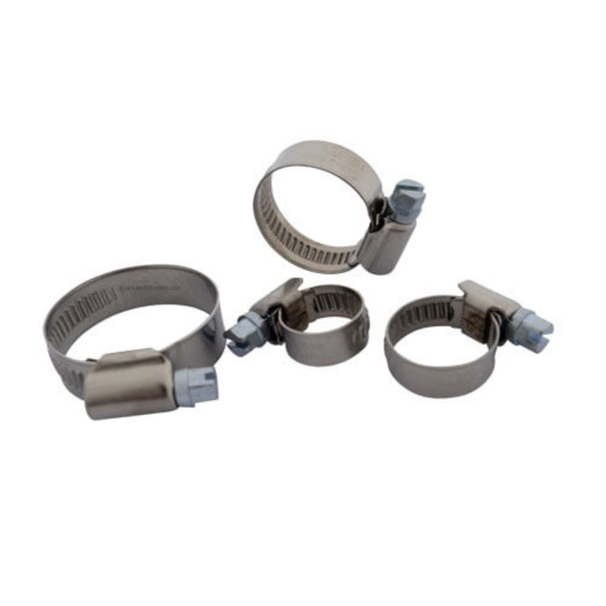 stainless steel hose clamp 16-25mm DIN 3017