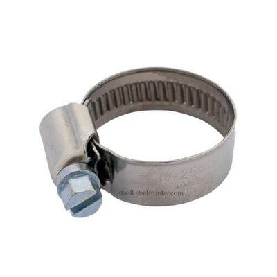 Roestvrijstalen Slangklem 16-25mm DIN 3017