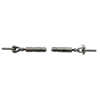 Railingset 4mm 2dlg roestvaststaal