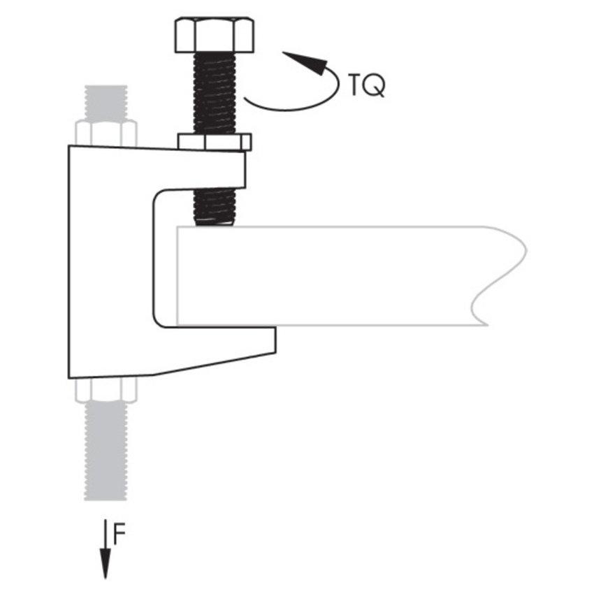 Beam clamp Model C