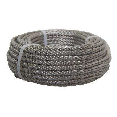 Wire Rope coil stainless 10 meter 6mm