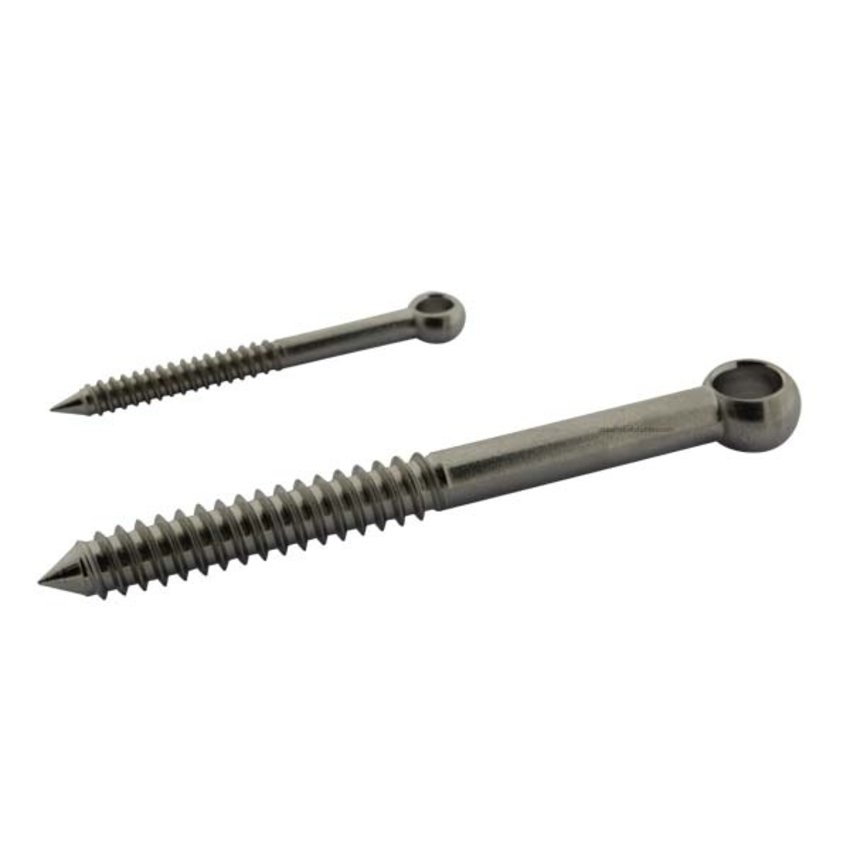 stainless screw-eye 10x100mm stainless