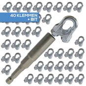 Wire Rope ClipPackage  for wirerope 41 pieces