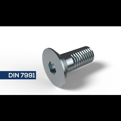 Rvs Verzonken Kopschroef DIN 7991 / ISO 10642