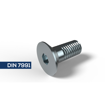 Senkschraube  Edelstahl  Innensechskant DIN 7991 / ISO 10642