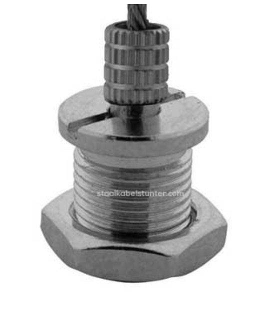 Staalkabel schuifsysteem voor schappen 2.5mm