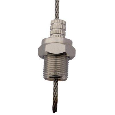 Technx Stahlseilschiebesystem für Regale Befestigungsschraube 2.5mm