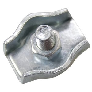 Wire Rope Clips galvanised 2mm Simplex