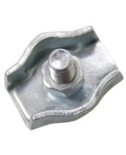 Staaldraadklem verzinkt 3mm simplex