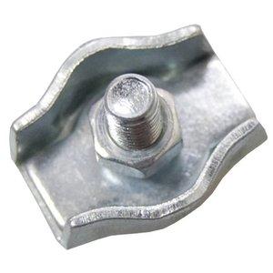 Staaldraadklem verzinkt 5mm
