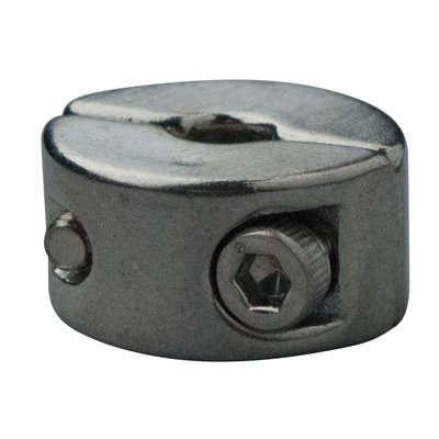 Edelstahl Drahtseiltoppen 2mm M3 twin