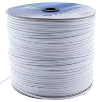 Filomat Steelwire brass plated white pvc coated 5mmx500meter
