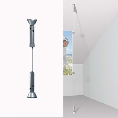Artiteq Wire Roperail for ceiling, Wall and floor.