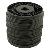 Staalkabel 5 mm Zwart 100 meter