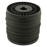 Wire Rope 5 mm black 100 meter