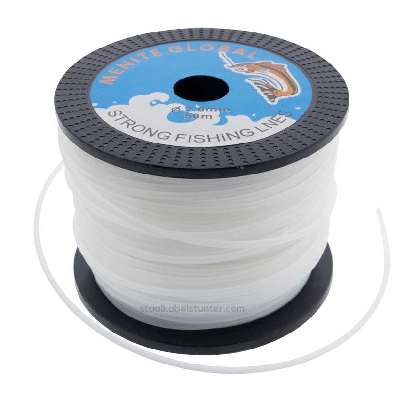 50 meter Nylon thread - Fishingline 2mm