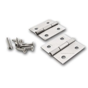 Technx hinge stainless 38x36mm