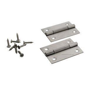 Technx hinge stainless 49x38mm