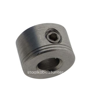 stainless Wire Ropestop hex 3mm