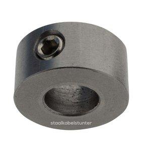 Rvs staalkabelstop inbus 6mm