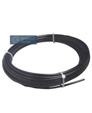 Fitness Wire Rope 5,5mm 10 meter black