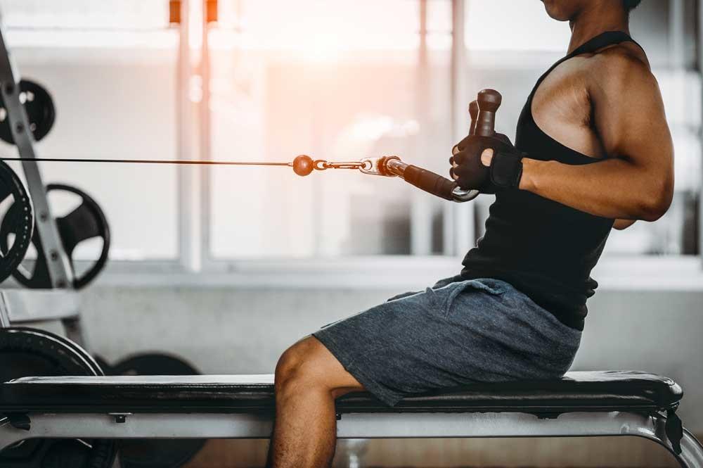 Maak je eigen fitnesstoestel in quarantaine