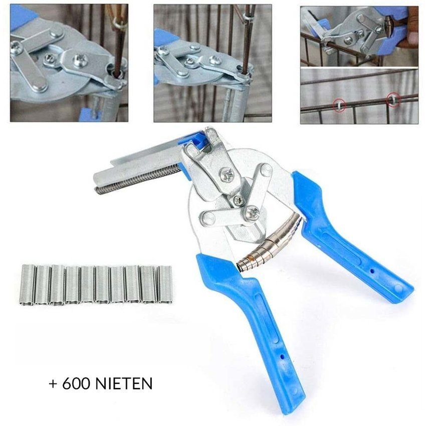 Fence plier with cartridge