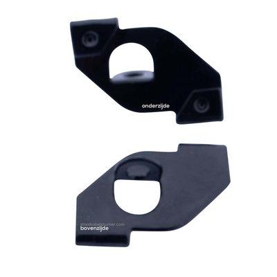 Technx Clip voor systeemplafonds zwart