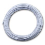 Technx stainless Wasline white pvc coated 3/5 mm x 20 meter