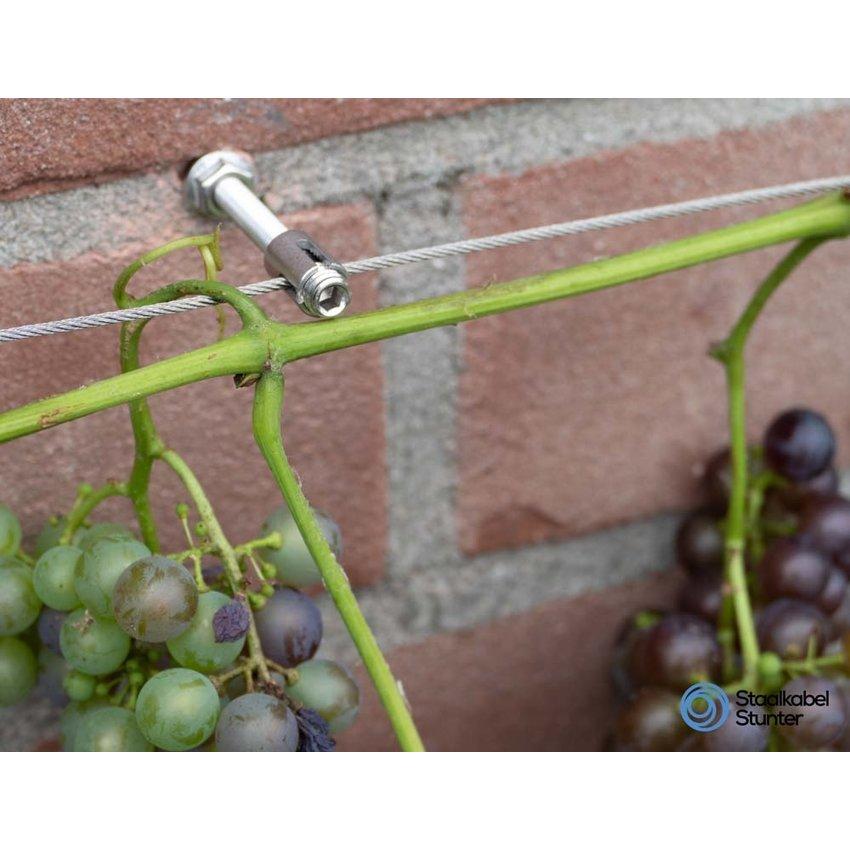 Plant Climbing-aid kruisscrew stainless Trellis 2mm