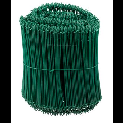 Technx Tie-wire - Zakkensluiters Groen Geplastificeerd 1,4x200mm