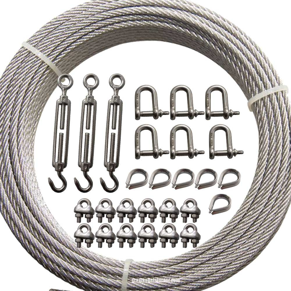Guy Wire Kit For Sale Wire Rope Stunter