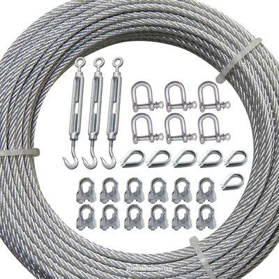 Technx Guy wire kit fur Schornstein und Sendemast Verzinkt