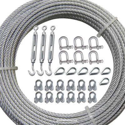 Technx Guy wire kit Verzinkt