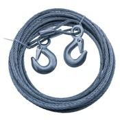 Hand Seilwinde Handwinde mit 10 m Stahldraht 6mm